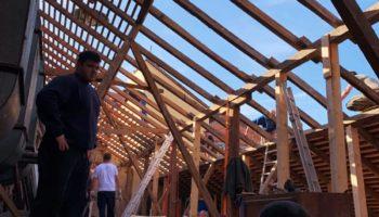 Rekonstrukcija krovišta garaže DVD-a Hrvatska Kostajnica