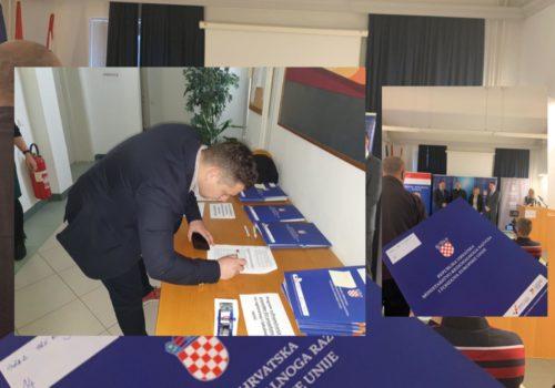 Potpisivanje Dodatka I. Ugovora o sufinanciranju radova i usluga javne rasvjete