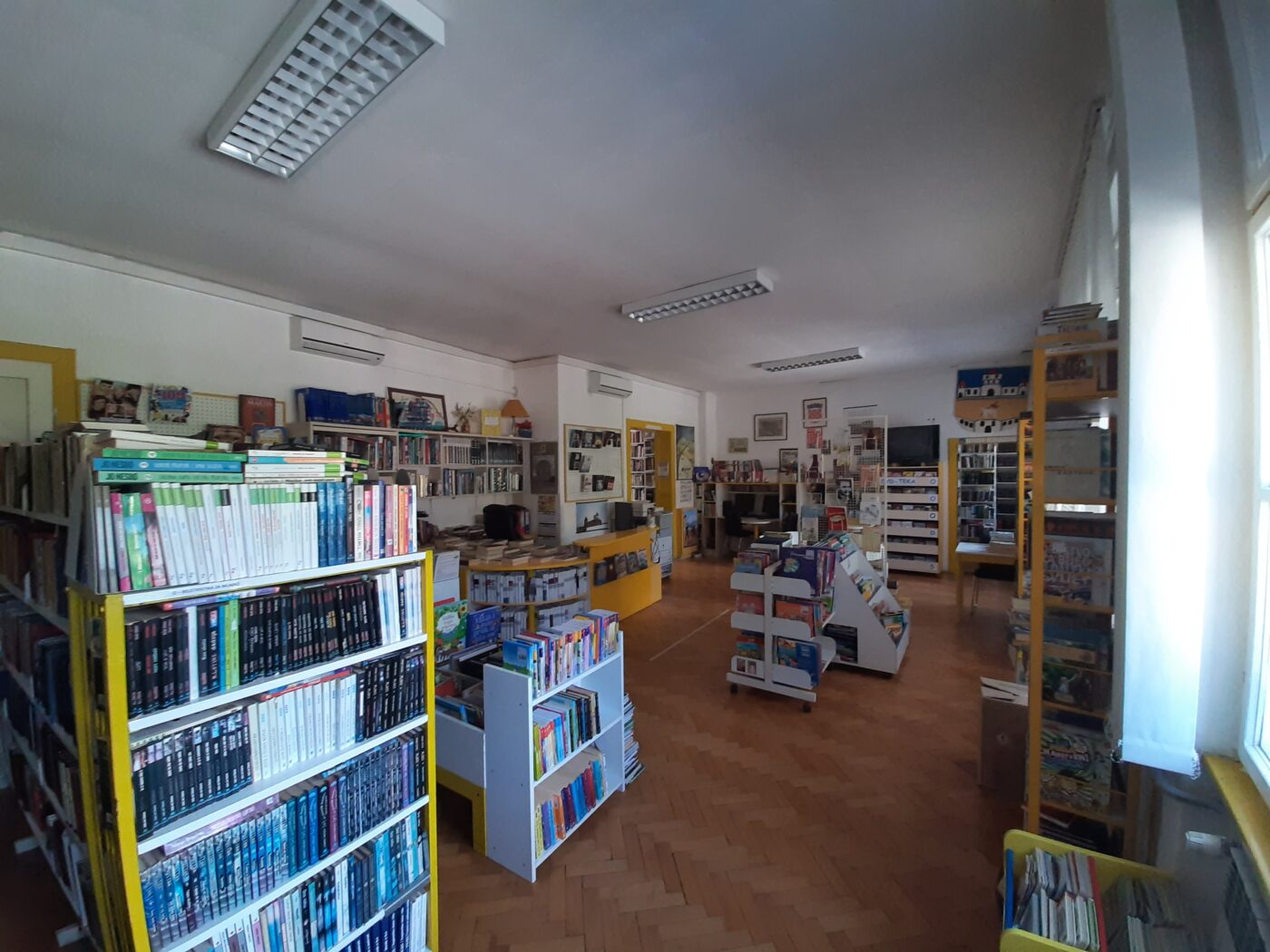 Radno vrijeme Gradske knjižnice i čitaonice Milivoja Cvetnića Hrvatska Kostajnica